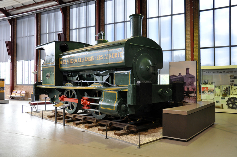 Gibb & Hogg Steam Locomotive