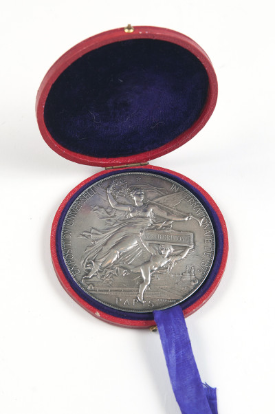 Silver Medal from the Paris Exhibition image