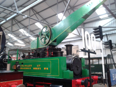 0-4-0CT Colville Crane Locomotive No.6 image